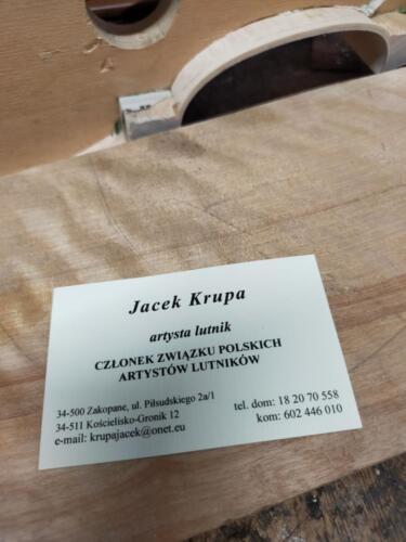 kontakt do lutnik artysta Jacek Krupa