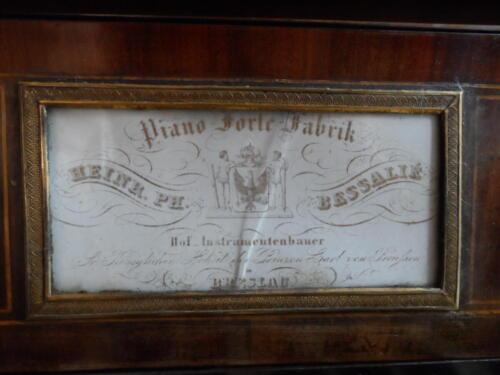 9 Wrocławski fortepian firmy Bessalie,  Ostromecko, fot. J.Gul